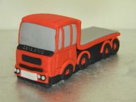 Flatbed Lorry Cake Topper